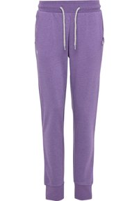 Bruno Banani - Tracksuit bottoms - lila - 1