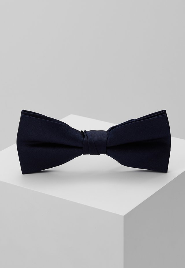 SOLID BOW TIE - Butterfly - blue