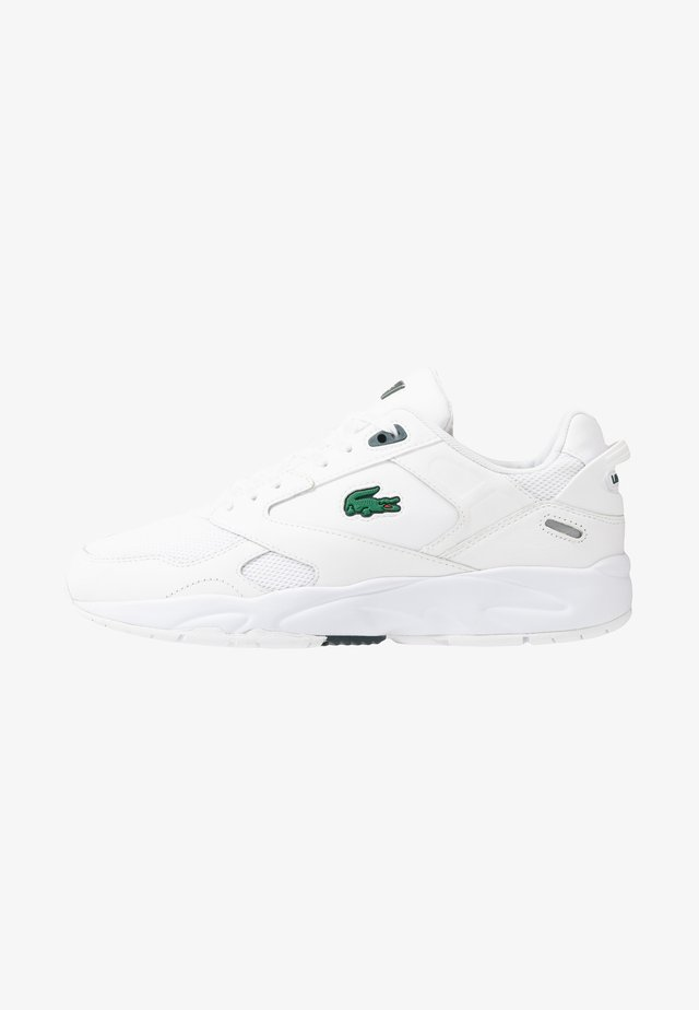 STORM - Trainers - white/dark green