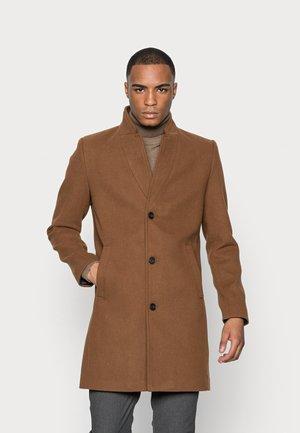 COAT - Classic coat - equestrian brown