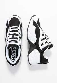 Kappa - OVERTON - Sports shoes - white/black - 1