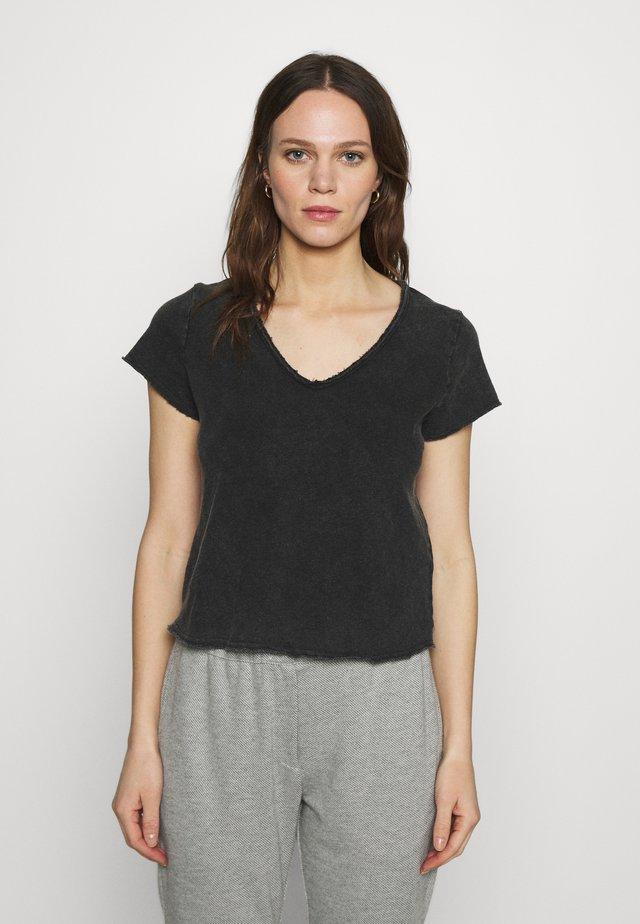 SONOMA - T-shirt basique - noir vintage