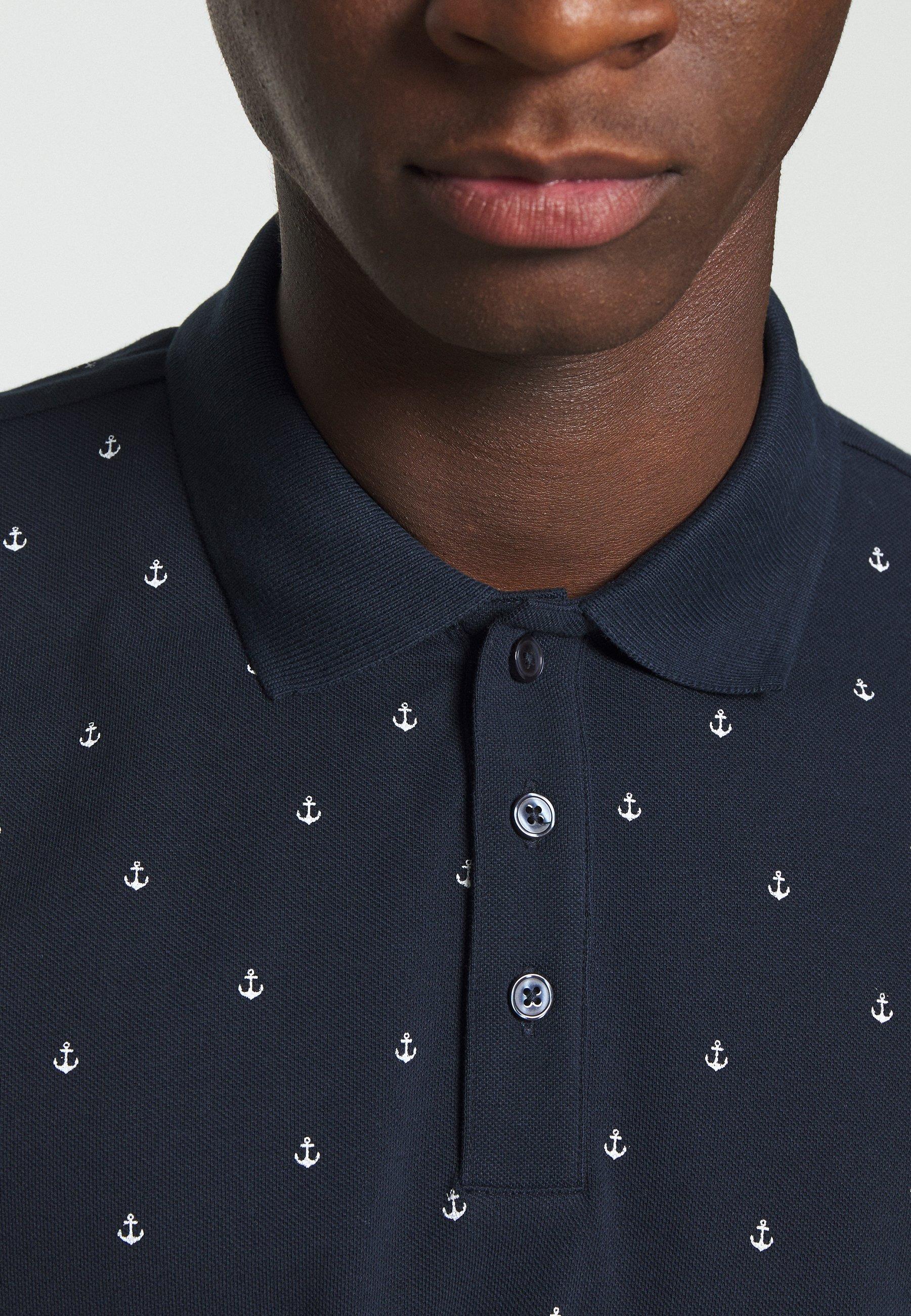 Jack & Jones PREMIUM JPRTRISTAN BLA - Polo shirt - navy blazer Okpas