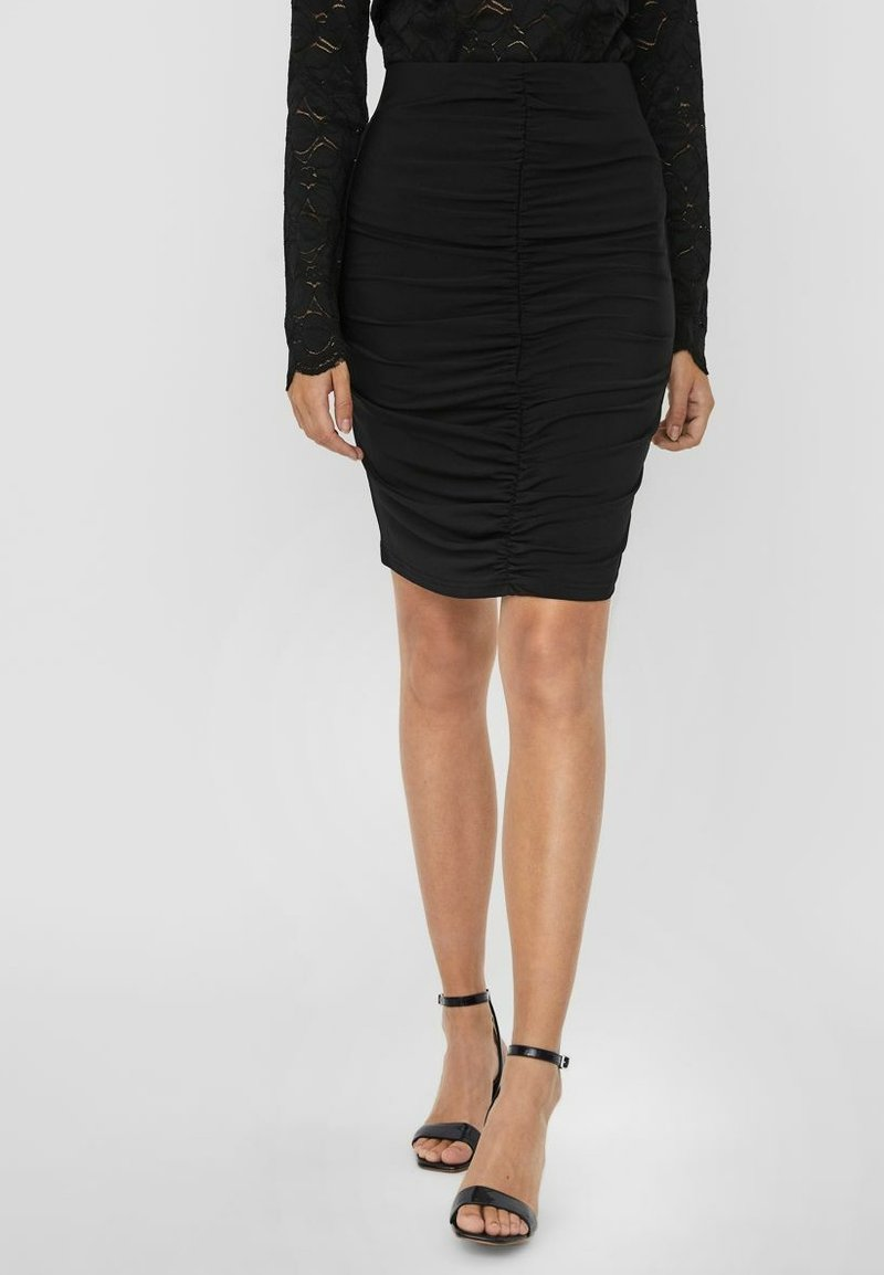 Vero Moda - Pencil skirt - black