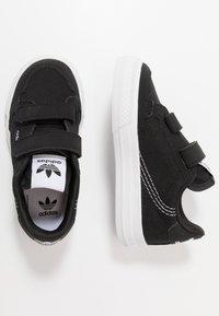 adidas Originals - CONTINENTAL - Sneakers laag - core black/footwear white - 0