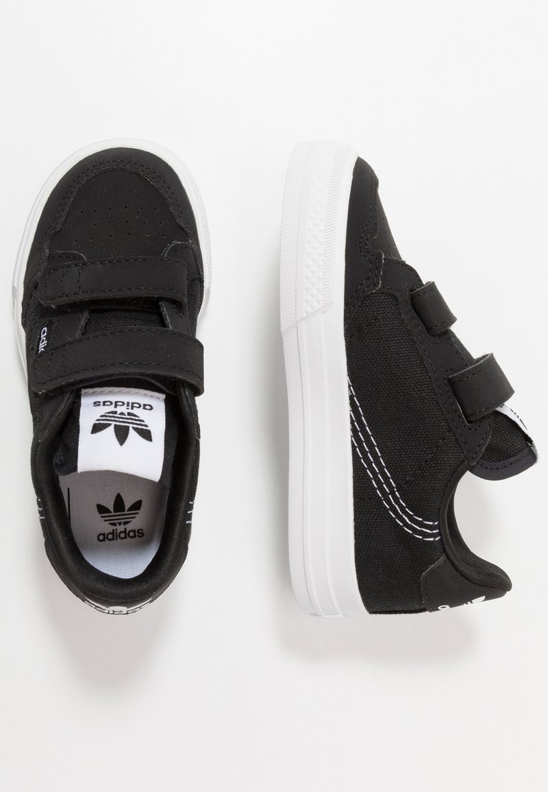 adidas Originals - CONTINENTAL - Sneakers laag - core black/footwear white