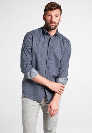 REGULAR FIT - Overhemd - jägergrün/grau