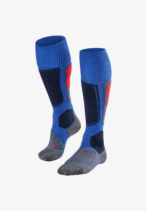 SK1 - Knee high socks - blue denim
