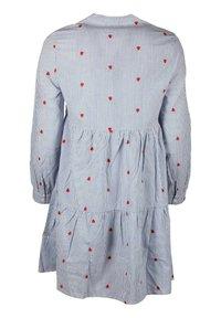 Zwillingsherz - Day dress - blau/ weiß - 1