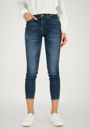 Jeans Skinny Fit - mid blue washed