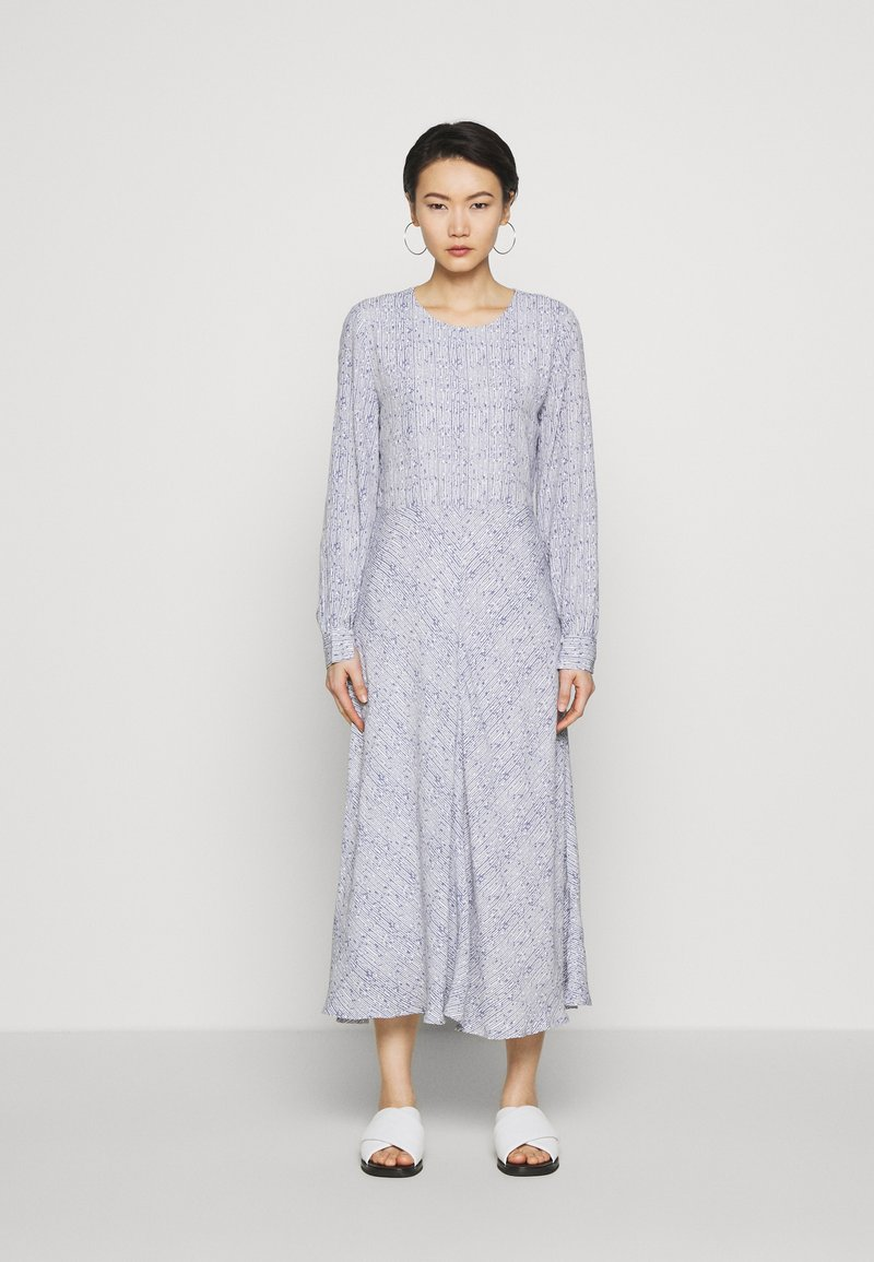 Bruuns Bazaar - TOFINA DRESS - Maxi dress - granite artwork