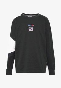 Puma - BMW MMS STREET MIDLAYER - Long sleeved top - puma black - 4