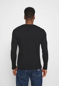 YOURTURN - UNISEX - Long sleeved top - black - 2