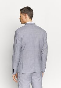 Lindbergh - CHECKED SUIT - Completo - lt grey check - 3