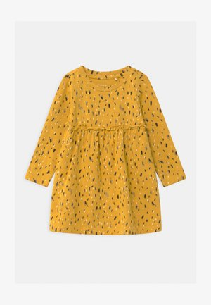 NBFNATASJA BABY - Jersey dress - spicy mustard