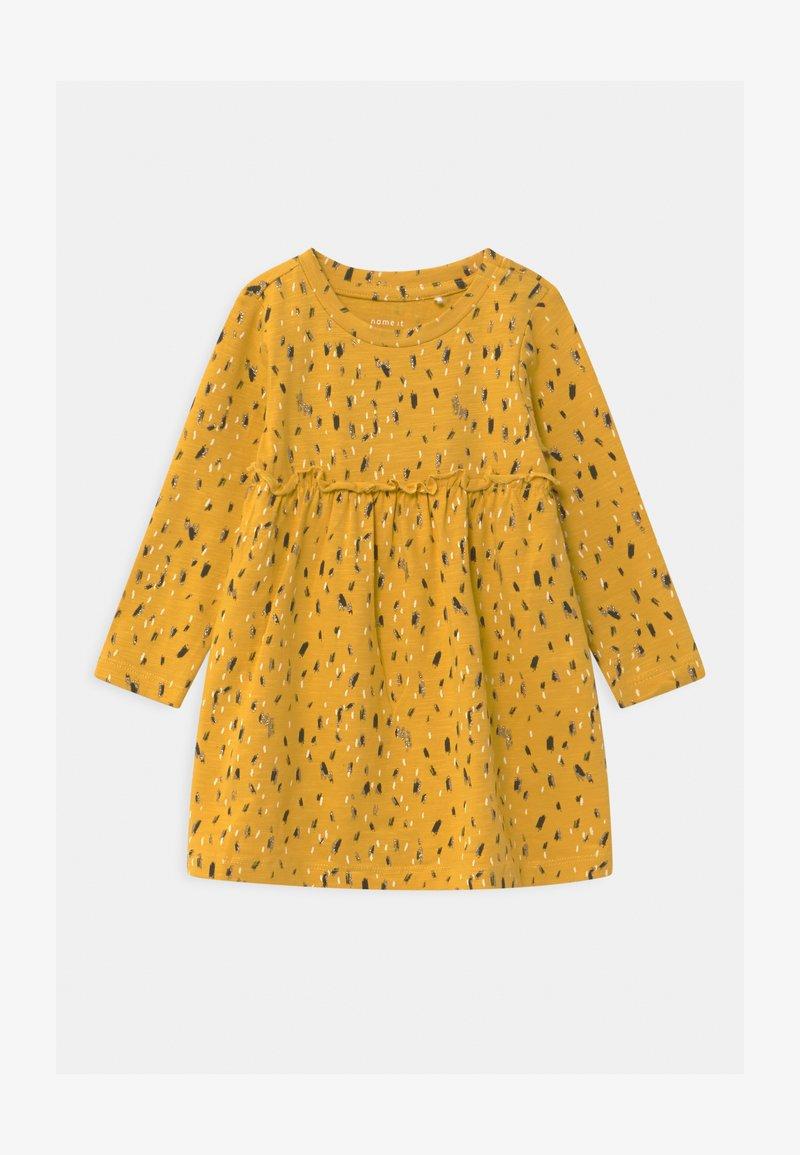 Name it - NBFNATASJA BABY - Jersey dress - spicy mustard