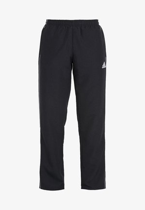 CORE - Tracksuit bottoms - black/white