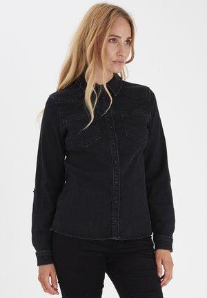 PZJOSIE  - Camicia - black denim