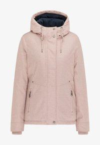 DreiMaster - Winter jacket - nude melange - 4