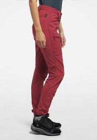 Haglöfs - LITE  FLEX PANT - Outdoor trousers - brick red - 2