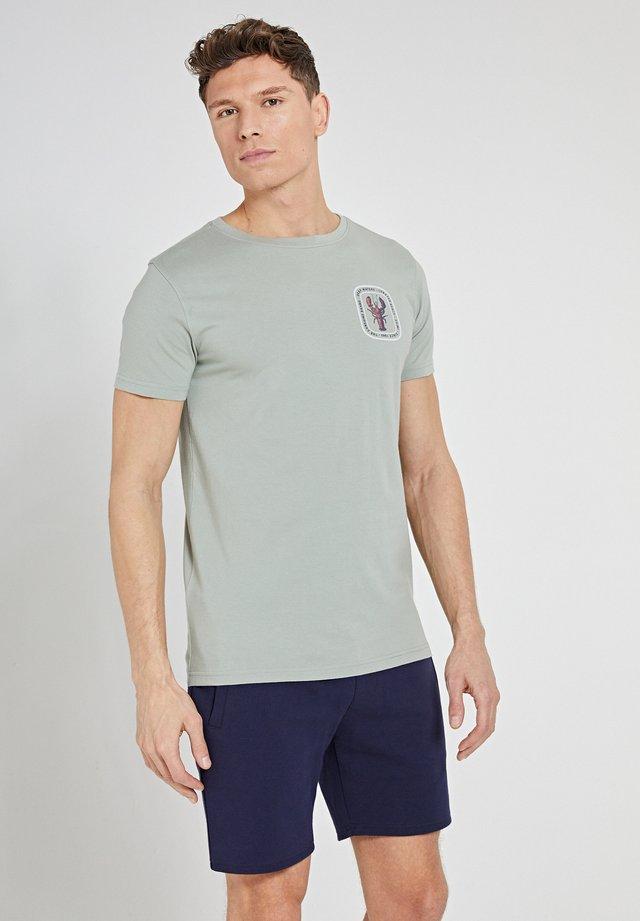 LOBSTER - T-shirt imprimé - miami pistache