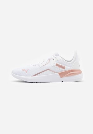 PLATINUM METALLIC - Sports shoes - white/rose gold