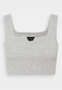 Even&Odd Petite - 3 PACK - Topper - black/white/mottled light grey - 1