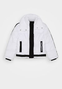 KARL LAGERFELD - PUFFER JACKET - Zimní bunda - white/black - 0
