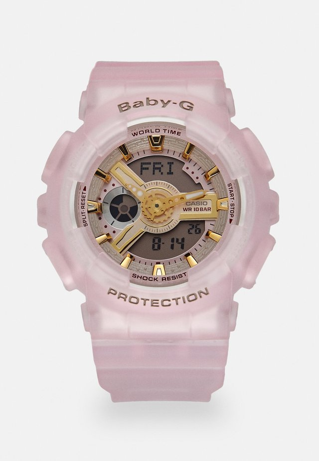 Digital watch - rose