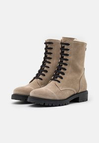 Anna Field - LEATHER - Lace-up ankle boots - beige - 2