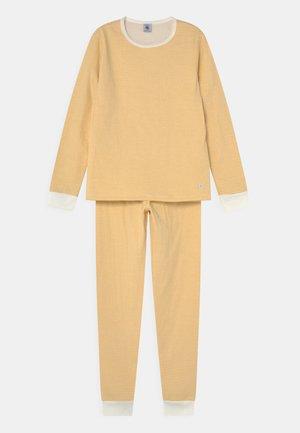 TRIOMPHE UNISEX - Pyjama set - ocre/marshmallow