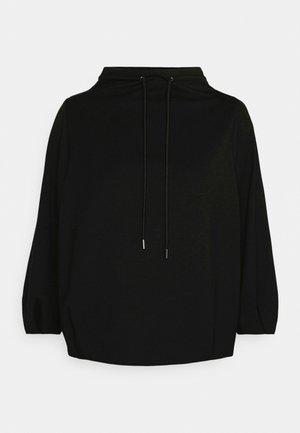 DRAWSTRING - Long sleeved top - black/navy