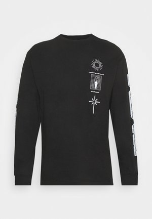 ORIGINS TEE - Long sleeved top - black