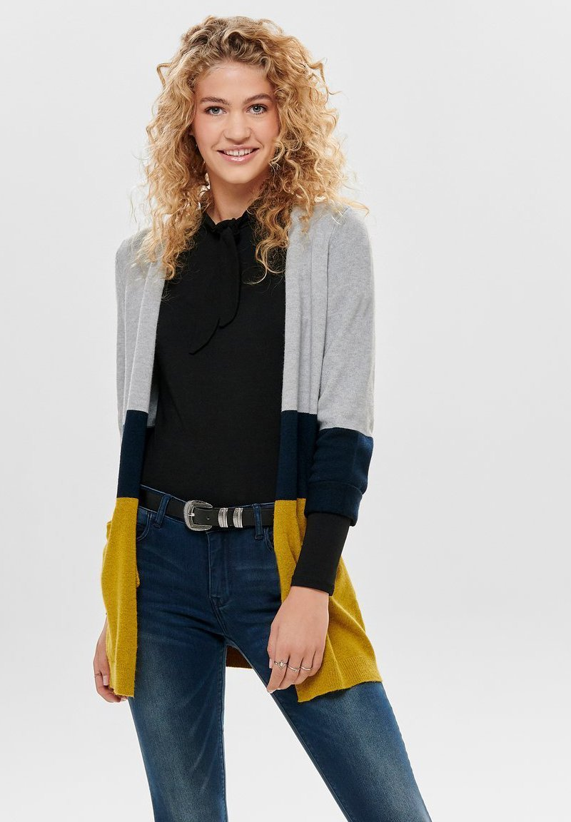 ONLY - ONLQUEEN LONG  - Kardigan - yellow