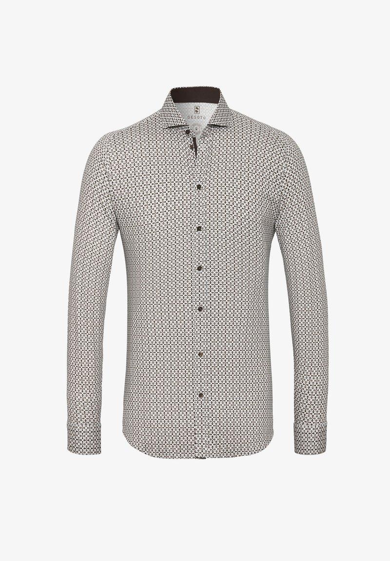 DESOTO - Shirt - hellbraun