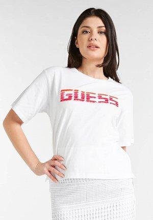 FRANSEN - Print T-shirt - weiß