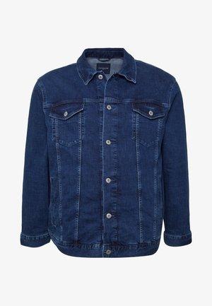 TRUCKER DENIM JACKET - Denim jacket - mid stone wash denim blue