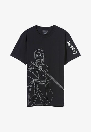 NARUTO - T-shirt con stampa - black