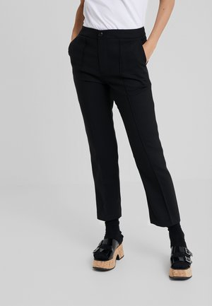 CIGARETTES PANTS - Bukser - black