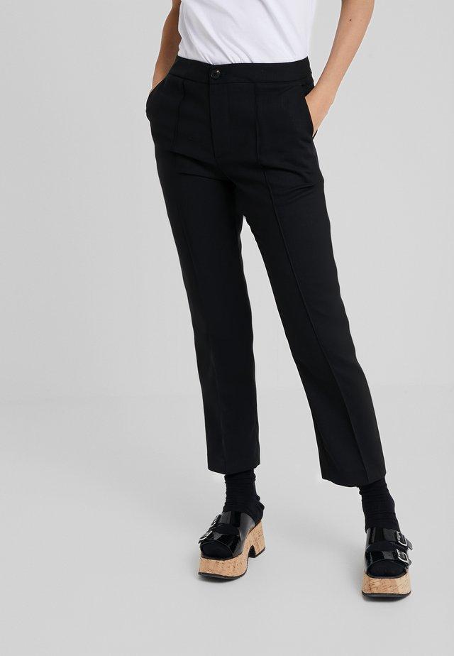 CIGARETTES PANTS - Pantaloni - black