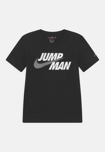 JUMPMAN STRONG - Print T-shirt - black