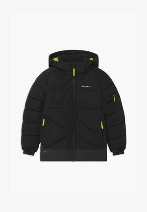 LOUDON UNISEX - Snowboardová bunda - black