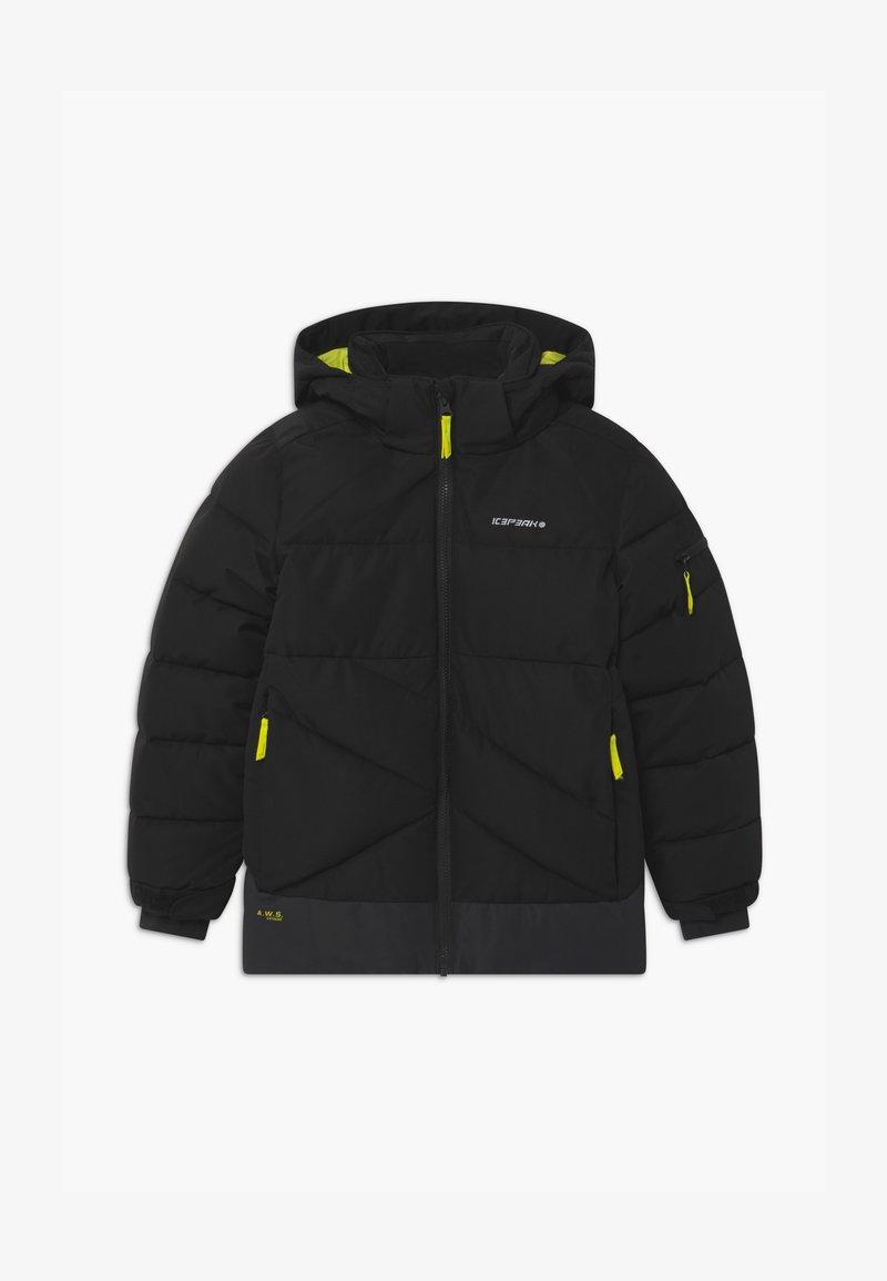 Icepeak - LOUDON UNISEX - Snowboard jacket - black