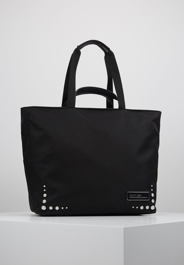 PRIMARY PSP20 SHOPPER ST - Tote bag - black