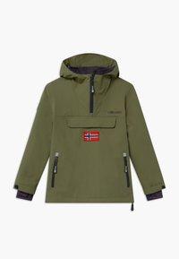TrollKids - KIRKENES - Ski jacket - khaki green/anthracite - 0
