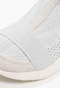 Woden - THYRA KIDS - Sneakers hoog - sea fog grey - 5