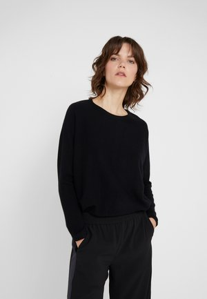 CURVED - Jumper - black