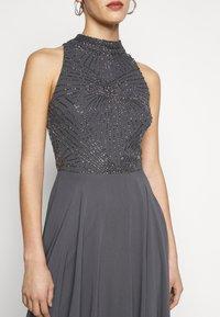 Lace & Beads Tall - AVERY HIGH LOW DRESS - Společenské šaty - charcoal - 5