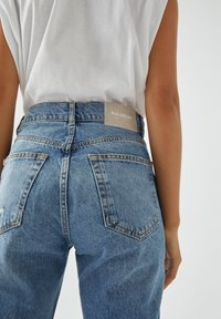PULL&BEAR - Straight leg jeans - blue denim - 5