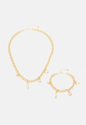 PCSIF BRACLET NECKLACE SET - Necklace - gold-coloured